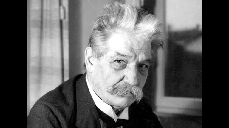 1965 sendete Radio Schweden ein Programm mit dem deutschen Arzt, Philosophen udn Friedensnobelpreisträger Albert Schweitzer (Foto: svt Archiv)