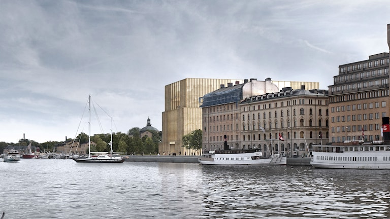 Nobel Prize Center Foto: David Chipperfield Architects