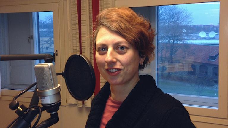Claudia Bernhard Oettel, Arbeitspsychologin an der Universität Stockholm, im Gespräch mit Radio Schweden (Foto: Sybille Neveling / Radio Schweden)