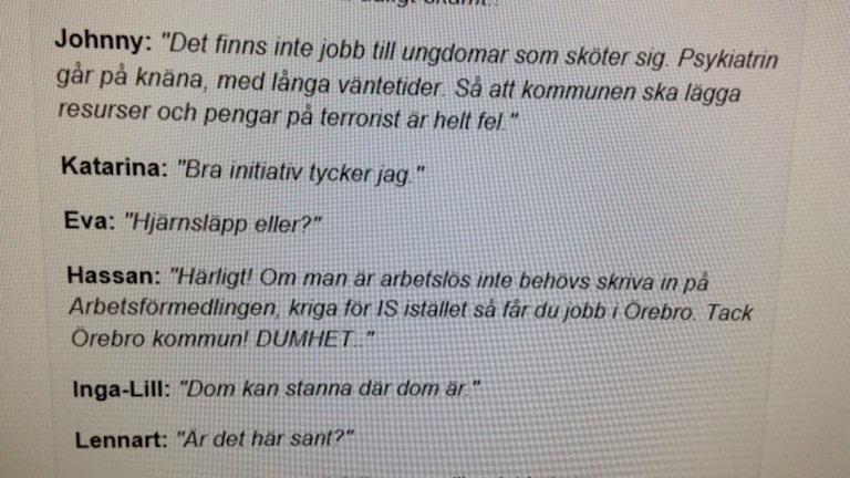 Die Gemeinde Örebro will IS-Aussteigern helfen - mit Jobs und Therapie (Foto: Liv Heidbüchel/Radio Schweden)