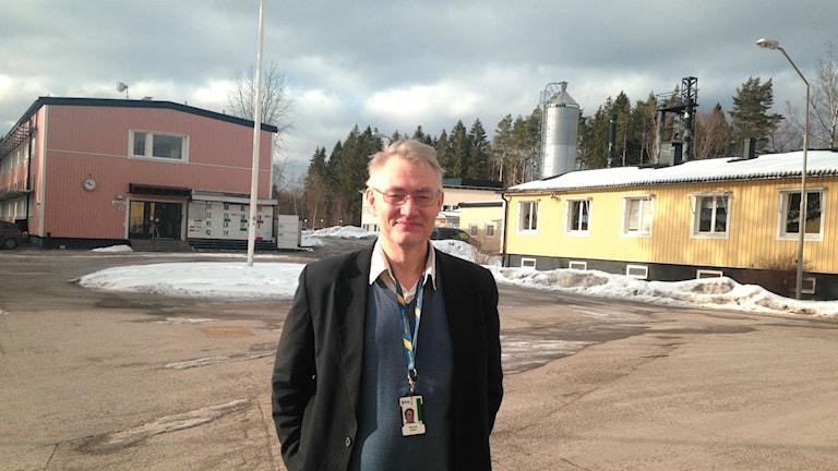 Henric Östmark (Foto: Hansjörg Kissel / Radio Schweden)