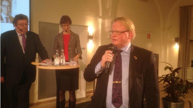 Schweden und Finnland einigen sich auf historische militärische Zusammenarbeit (Foto: Jurij Gourman/Sveriges Radio)