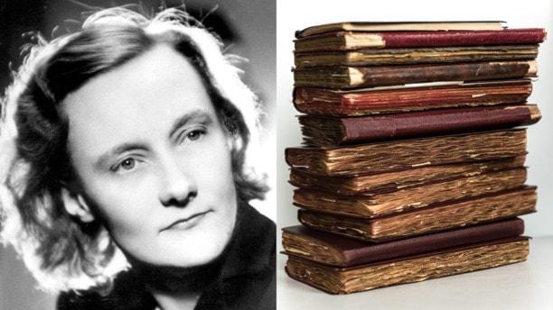Sechs Jahre lang hat - die damals noch völlig unbekannte -  Astrid Lindgren Kriegstagebuch geführt. Passend zum 70. Jahrestag kommt ein Buch mit Auszügen aus diesen Aufzeichnungen heraus. (Foto: Sveriges Radio)