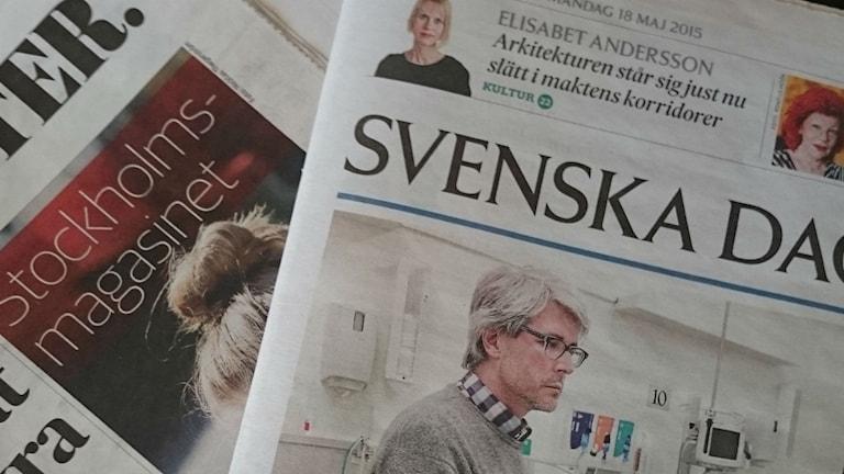 Zeitungen Schweden Presse
