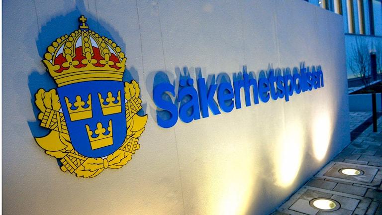 Schwedens Staatsschutz Säpo hat zwei Männer festgenommen, die im Verdacht stehen, für die Terrormiliz IS rekrutiert zu haben (Foto: Janerik Henriksson/TT)