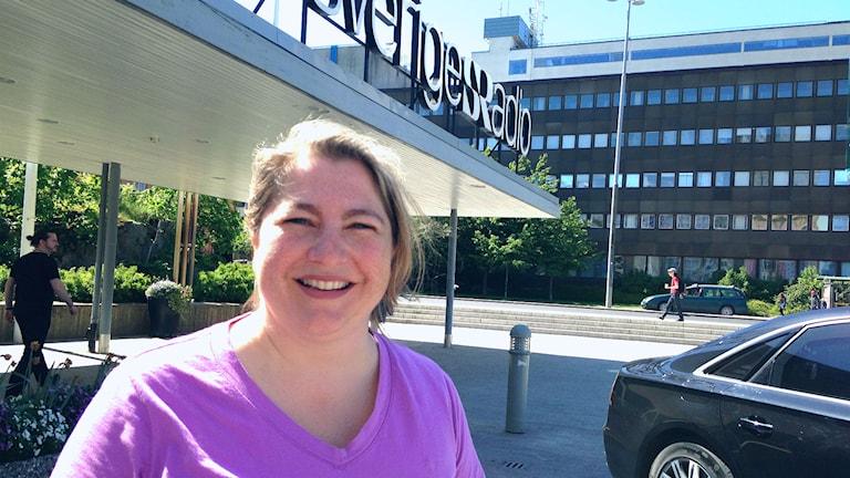 Andrea Hofman (Foto: Hansjörg Kissel / Radio Schweden)