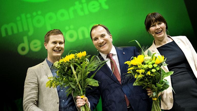 Schweden Grünen-Parteitag Vattenfall Braunkohle Flüchtlinge  Foto: Kicki Nilsson / TT
