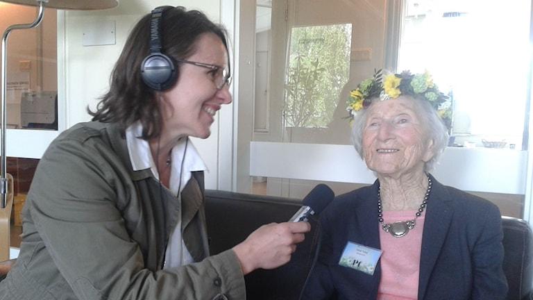 Hédi Fried Karin Bock-Häggmark intervju sommarpratare holocaust