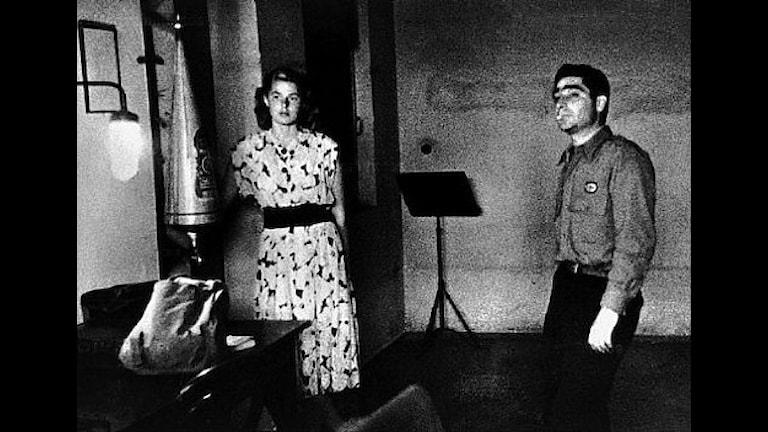 Ingrid Bergman und Robert Capa 1945 (Foto: Archiv)