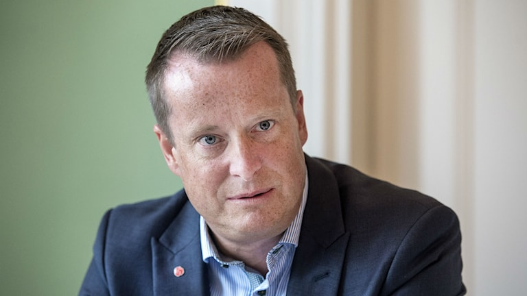 In Sorge um das Land: Innenminister Anders Ygeman (Foto: Marcus Ericsson/TT)