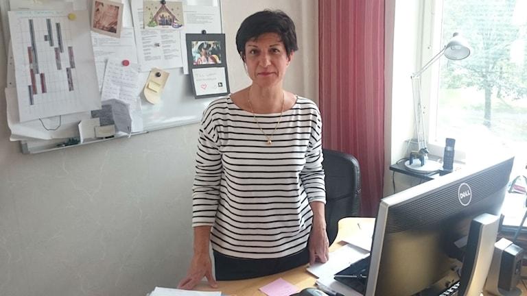 Azam Qarai Frauenrechte Fundamentalismus Schweden Ehrengewalt (Foto: Dieter Weiand/Sveriges Radio)