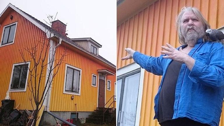 Haus zu bunt Schweden Foto: Tina Enström/SVT