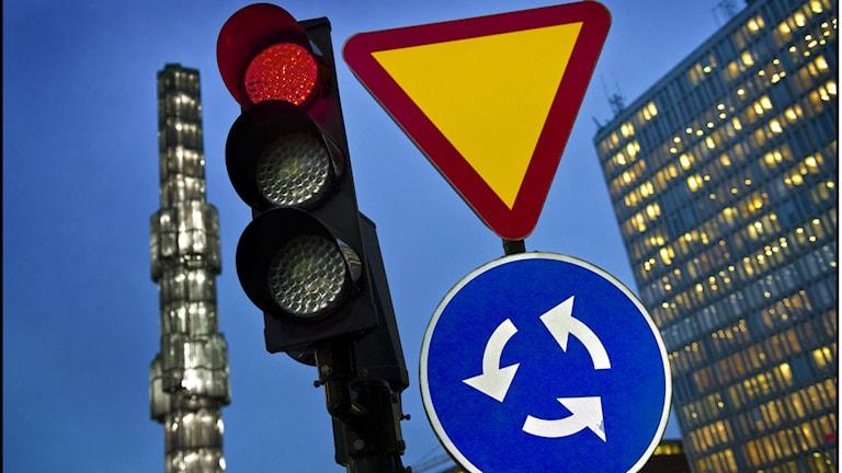 Die Schweden missachten vielfach die gängigsten Verkehrsregeln, finden Radio-Schweden-User (Foto: Claudio Bresciani/TT)
