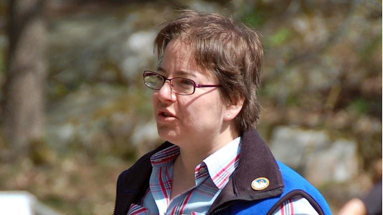 Susanne Lüders ist Wanderleiterin bei der gemeinnützigen Organisation Friluftsfrämjandet in Schweden. Foto: Lennart Didrik privat