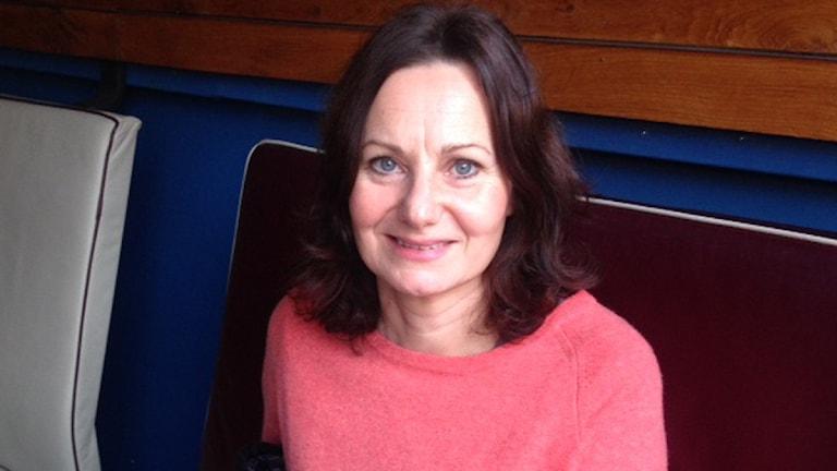 susanne nyberg-sander hat ihren Job als Firmenchefin aufgegeben, um mit Flüchtlingen zu arbeiten (Foto: Liv Heidbüchel/Radio Schweden)