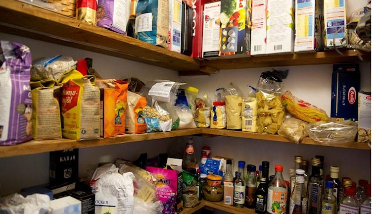 Im Krisenfall reichen die Lebensmittelvorräte in Schweden 10 bis 12 Tage (Foto: Björn Lindgren/TT)