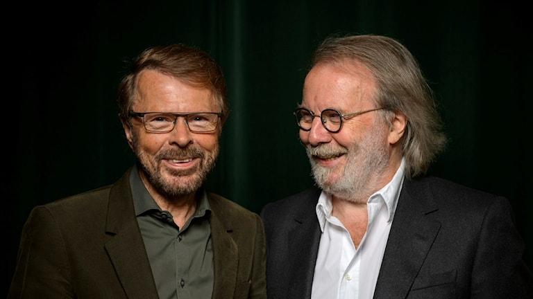 Die B's von ABBA, Benny Andersson und Björn Ulvaeus, bestätigen Musical-Gerüchte (Foto: Henrik Montgomery/TT)