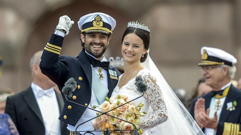 Prinzessin Sofia von Schweden brachte der Region Älvdalen durch ihre Hochzeit viele Einnahmen (Foto: Fredrik Sandberg/TT)