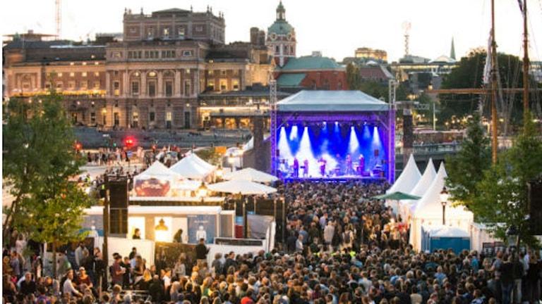 """Beim Festival """"We are Stockholm"""" hat es mindestens zwei Jahre in Folge massive Probleme mit sexueller Belästigung gegeben - die Polizei ermittelt (Foto: Sophia Hogman / Studio Emma Svensson)"""