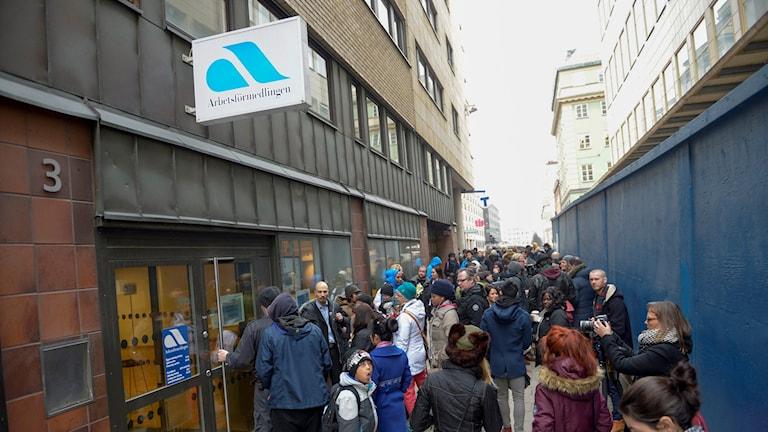 Jugendarbeitslosigkeit auf Rekordtief in Schweden (Foto: Bertil Ericson / TT)