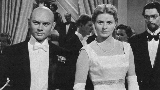 Brynner thaj Ingrid Bergman ando filmo Anastasia
