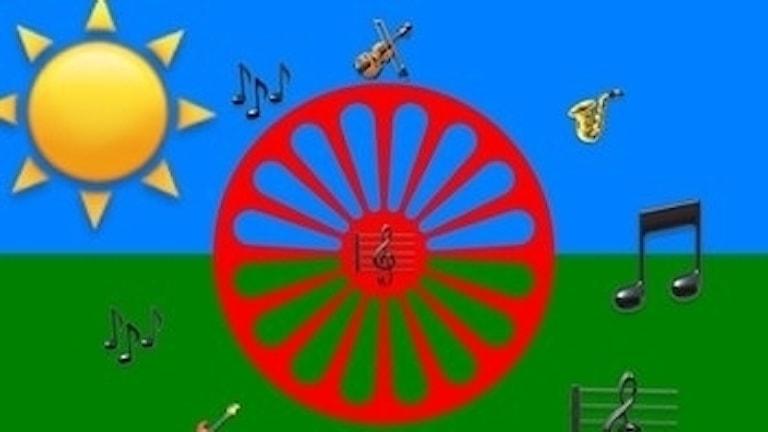 muzikako programo flagga