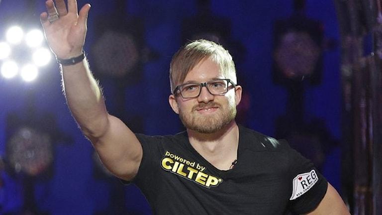 Världsmästaren i poker: Martin Jacobson. Foto: John Locher/AP.