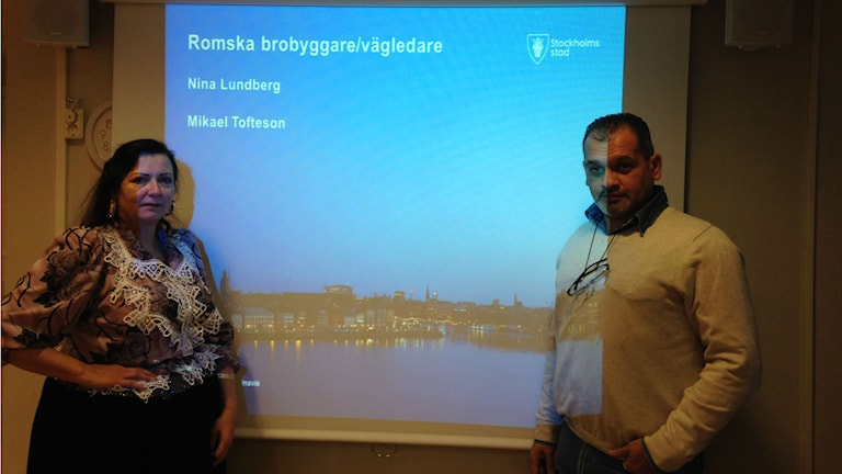 Romane brobyggare Nina Lundgren thaj Mikael Toftesson