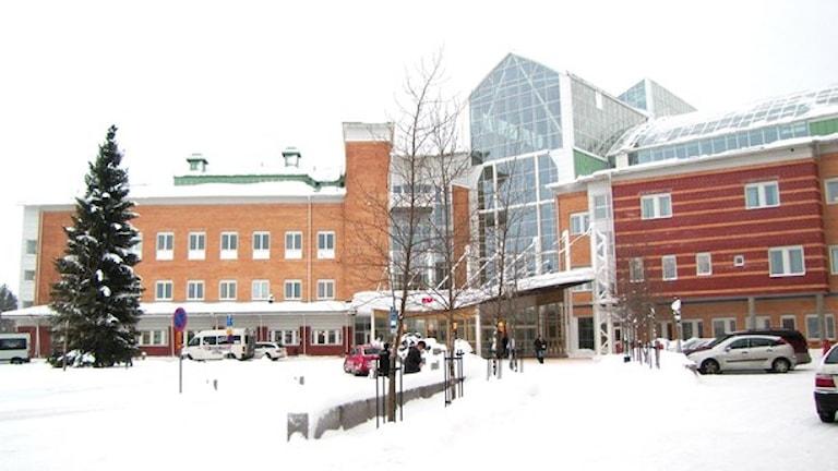 Sunnerby sjukhus del varningo pa PV8  Foto: Linnea Luttu/Sverigesradio