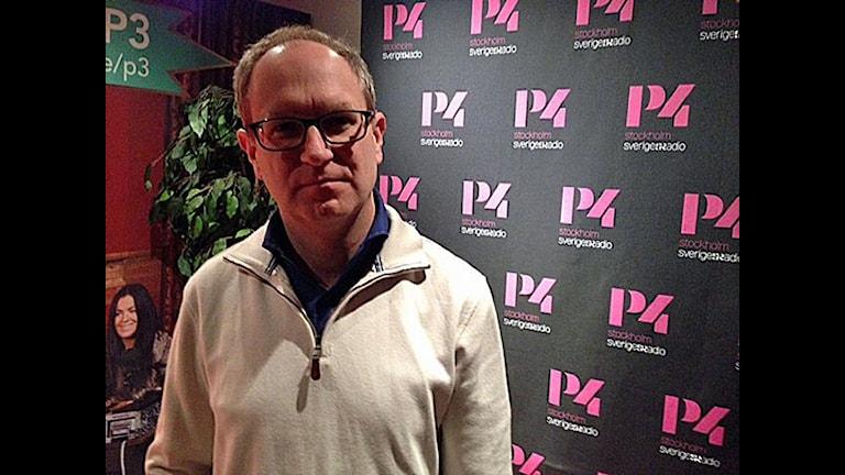 Barnombudsman Fredrik Malmberg. Foto/ Sveriges Radio