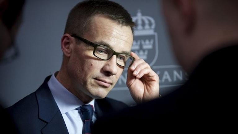 Fd socialförsäkringsminister Ulf Kristersson (M). Foto: Bertil Ericson/TT.
