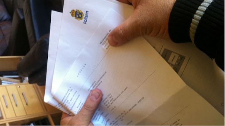 So kedjolpe e purane registrosa savo kerda e Skåne Policia pe roma: