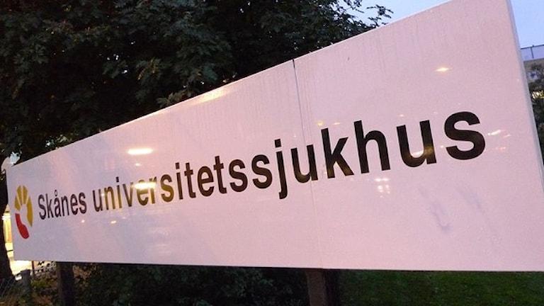Bolnica ando Skåne. Foto:TT