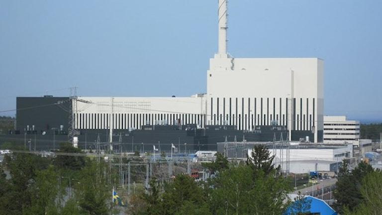 Kärnkraftverket OKG:s reaktor 3. Foto: Nick Näslund/Sveriges Radio