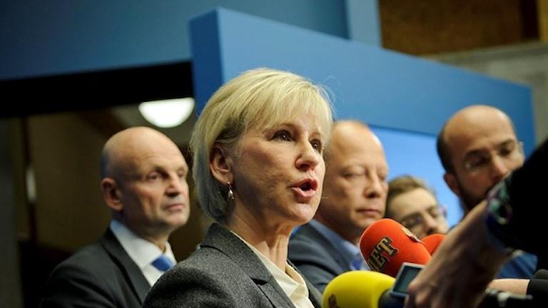 Avri themutni ministerka Margot Wallström
