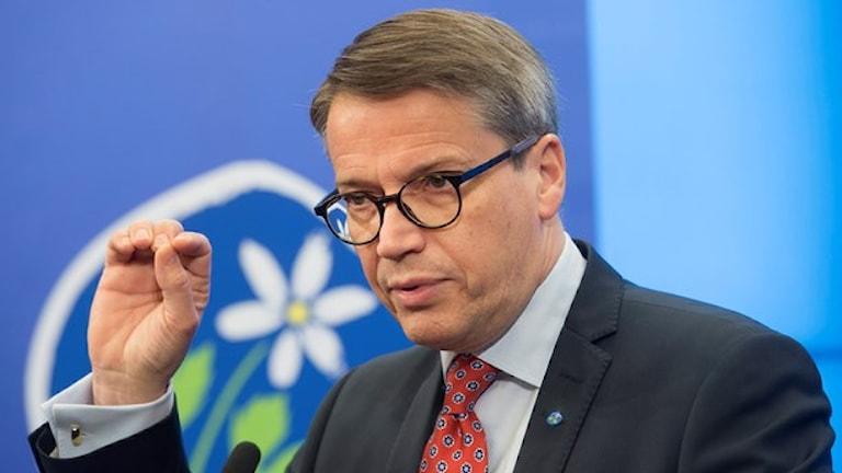 Göran Hägglund mukhel pesko than sar sherutno ando KD Foto: TT