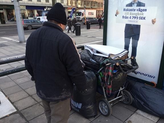 EU-migrantoria shudine khatar o Sergels Torg