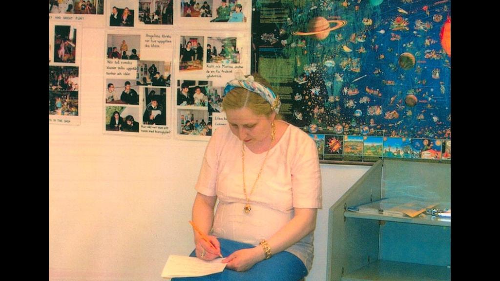 E romani sikavni Angelina Dimiter Taikon. Foto Roma Kulturklass