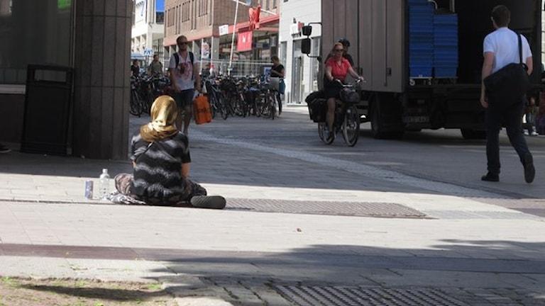 EU migrantia andi Uppsala:Foto: Martin Hult/SR.