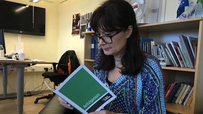 Heidi Pikkarainen anda e Komitcia kharing Antiziganismo. Foto: Peter Lindberg Radio Romano SR