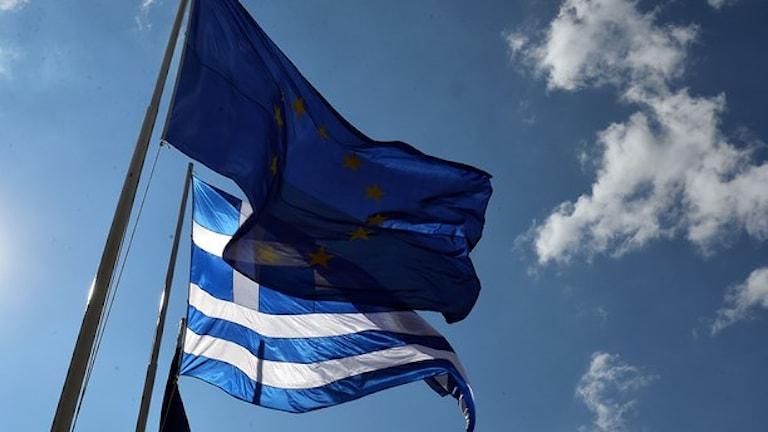 EU och Grekland Foto: TT