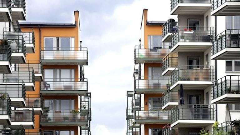Allra störst är prisskillnaden på små lägenheter. Arkivfoto: Tomas Oneborg / SvD / SCANPIX.
