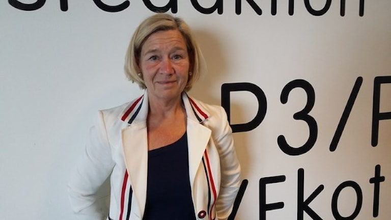 Anneli Hulthén (S). Foto: Tobias Edlund / SR