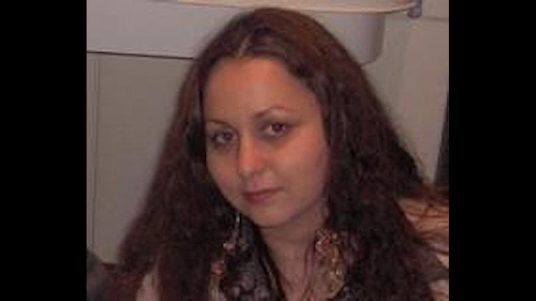 Carmen Marku zurnalista koatr e Temishvara, Rumunia.