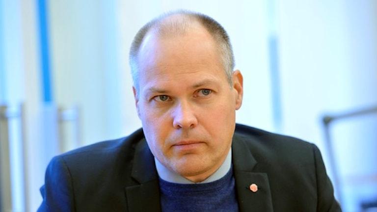 Justitieminister Morgan Johansson. Foto. TT.