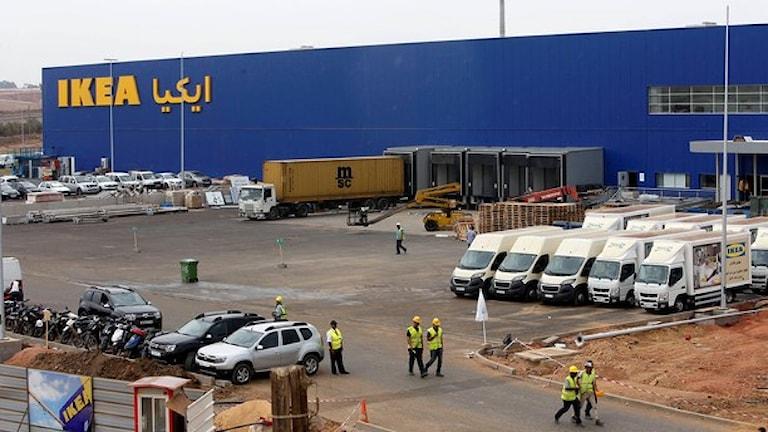 Invigningen av ett Ikea-varuhus i Marocko stoppades i sista stund. Foto: Abdeljalil Bounhar/TT.