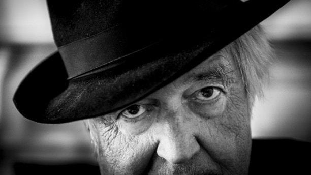 Författaren Henning Mankell fotograferad i juni 2015. Foto: Nora Lorek/TT.