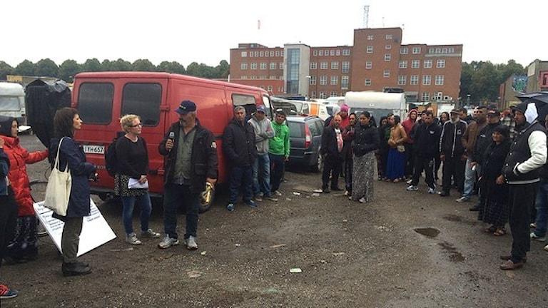 EU migrantia ando Malmö