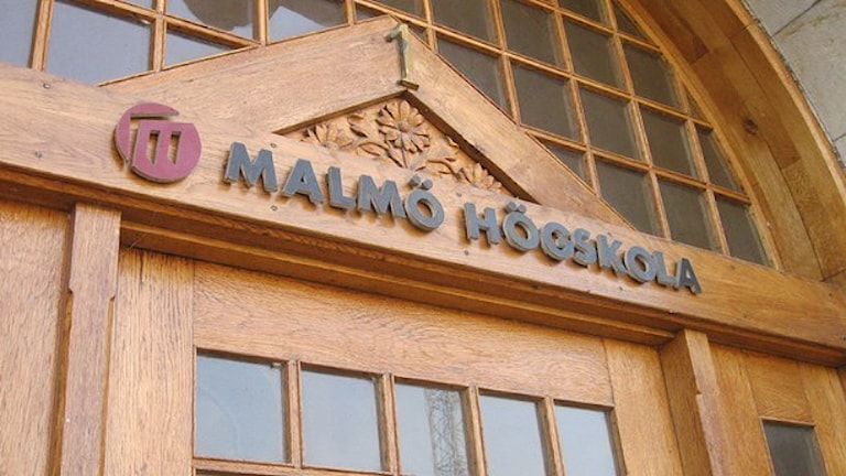 Malmö högskola. Foto: Edina Hrustic/SR