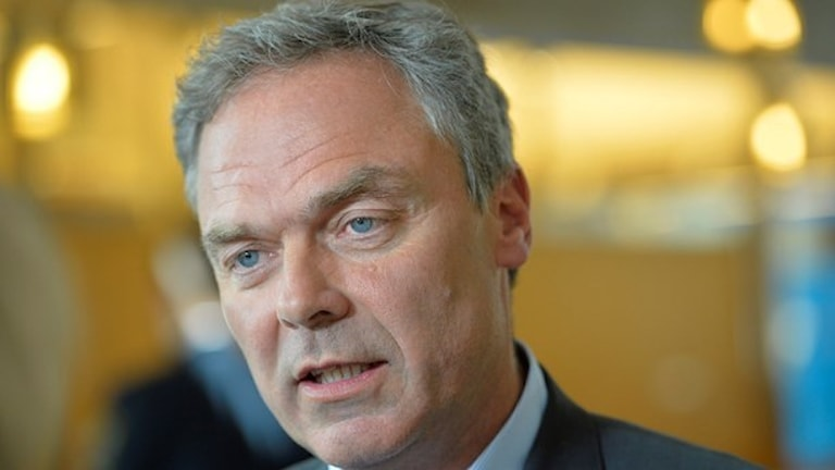 Folkpartiets ledare Jan Björklund. Foto: Henrik Montgomery/TT.